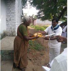 Vasthra Seva At Angappan Kottam Grama